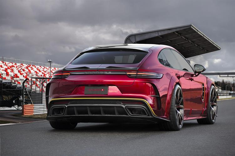 Mansory - Porsche 971 Panamera Mansory Rear Hatch Panel