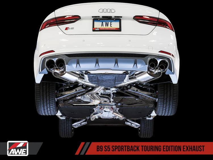 Audi B9 S5 Sportback AWE Tuning Touring Edition Exhaust System