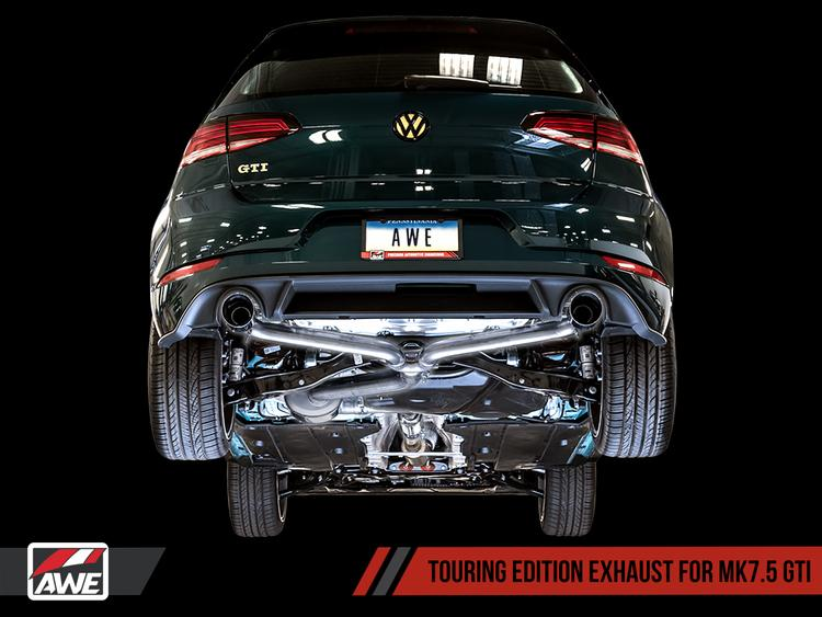 VW MK7.5 Golf GTI AWE Tuning Touring Edition Exhaust System