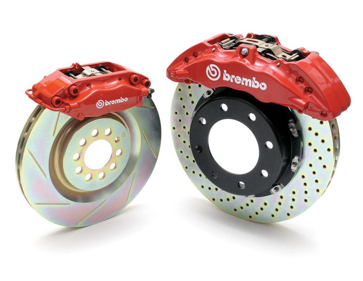 Brembo - 2018+ Audi RS3 Brembo Front 6-Piston 380x34mm GT B