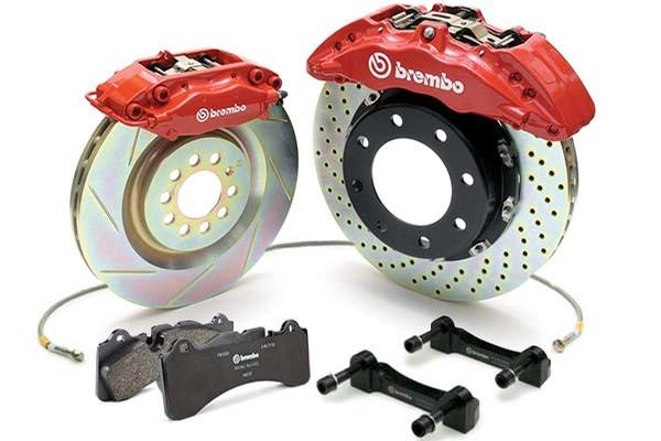 Brembo - 2018 Audi SQ5 Brembo 6-Piston 380x34mm Front Big B
