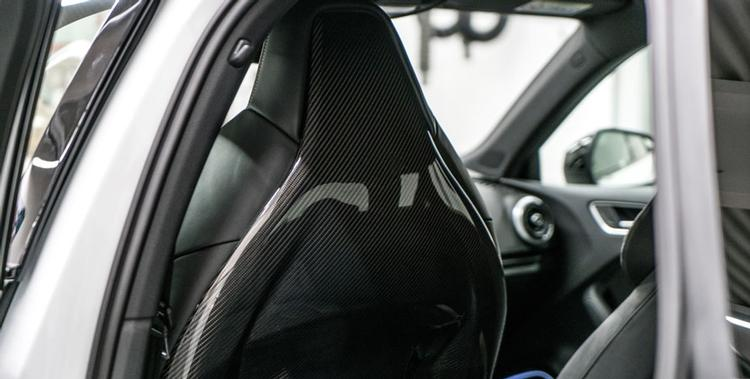 ABT - Audi B9 RS5 ABT Carbon Fiber Back Covers for Front
