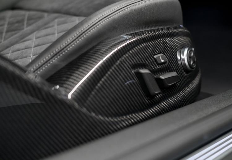 ABT - Audi B9 RS5 ABT Carbon Fiber Seat Frame Covers