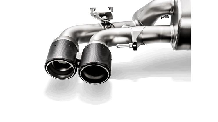 Akrapovic - BMW F90 M5 Akrapovic Carbon Fiber Tail Pipe Set