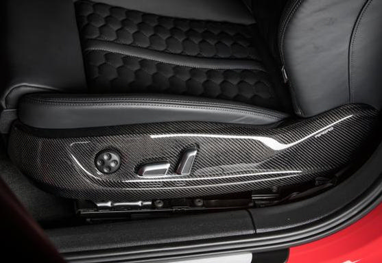 ABT - 2016+ Audi A6/S6 ABT Carbon Fiber Seat Panel Cover