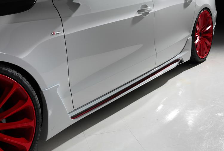 WALD - 2012-2016 Audi A5 WALD Side Skirts