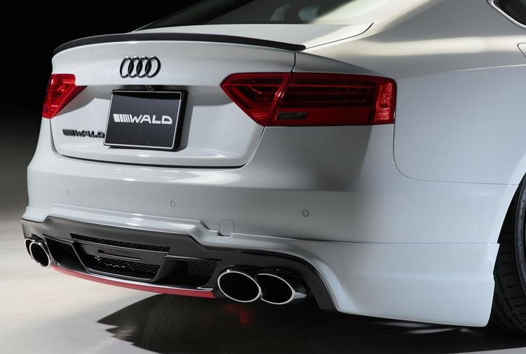 WALD - 2012-2016 Audi A5 WALD Exhaust Tips