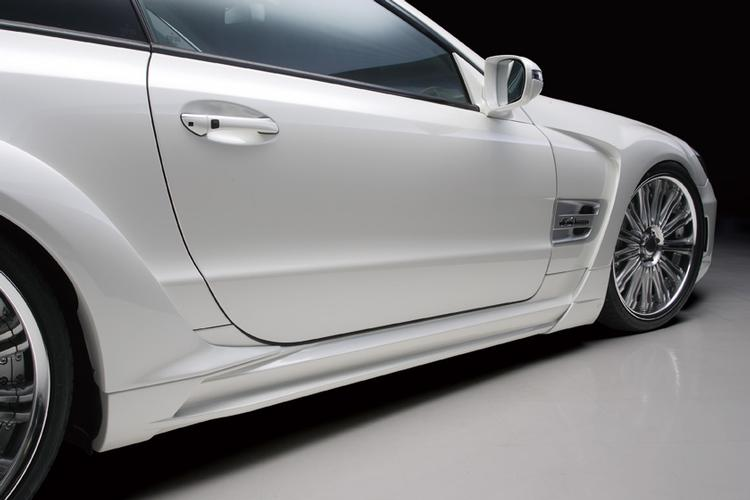 WALD - 2009-2012 Mercedes R230 SL Wald Side Skirts
