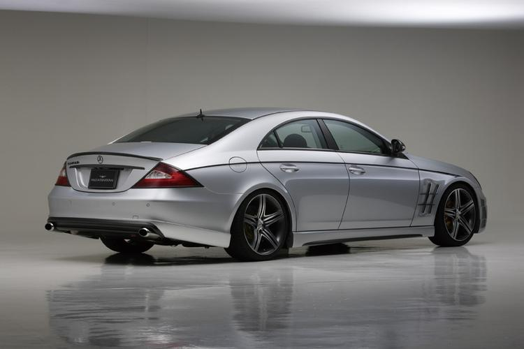 WALD - 2006-2008 Mercedes W219 CLS Wald Sports Line Side