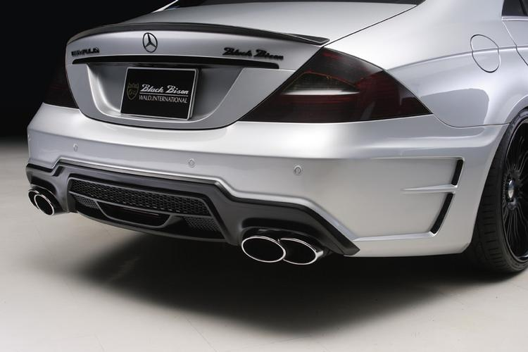 WALD - 2006-2011 Mercedes W219 CLS Wald Black Bison Rear