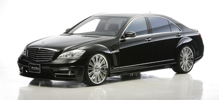 WALD - 2010-2013 Mercedes W221 S-Class Wald Black Bison A
