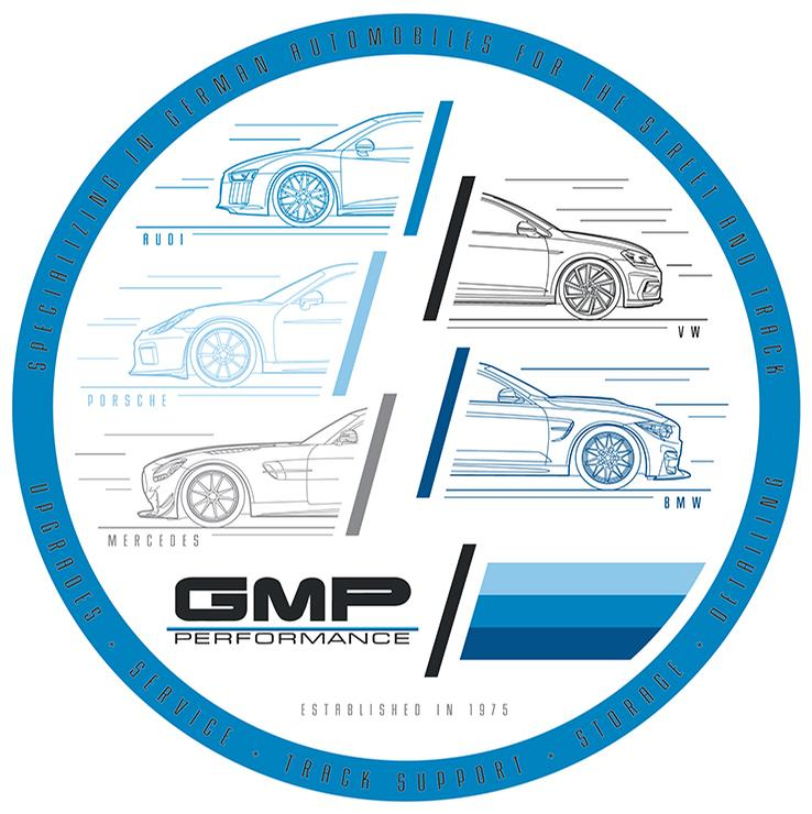 GMP - 360 Degrees of German Decal - White