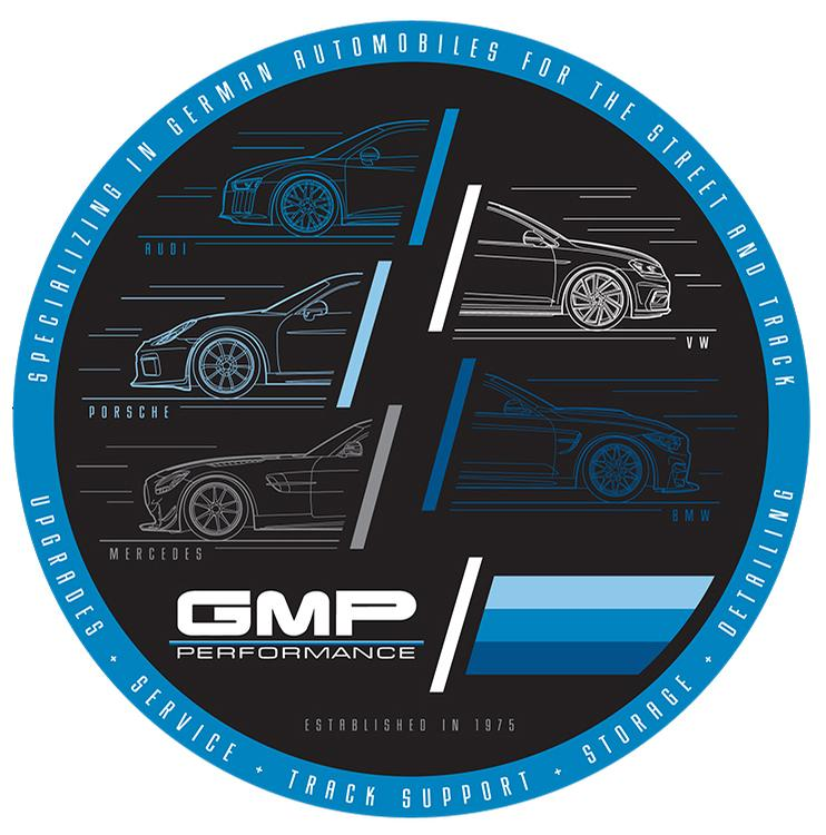 GMP - 360 Degrees of German Decal - Black