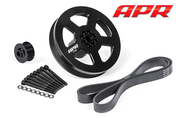 Audi A4/S4/A5/S5/A6/A7/A8/Q5/SQ5/Q7 APR 3.0 TFSI Supercharger Drive and Crank Pulley Kit