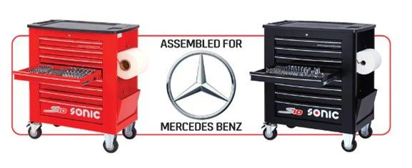Sonic Tools - Mercedes Sonic Tools S10+ 274-piece Toolbox