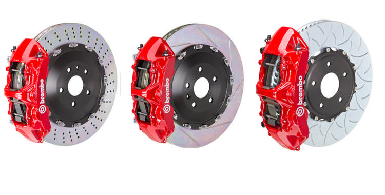 Brembo - Porsche 958 Cayenne Turbo Brembo Rear 4-piston 380