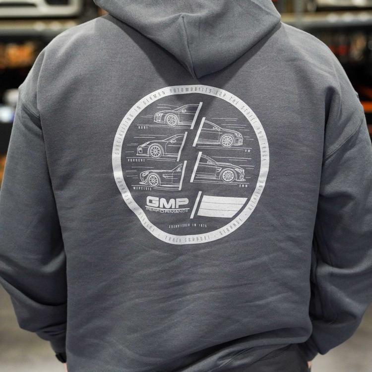 GMP - GMP 360 Degrees of German Gray Pullover Hoodie