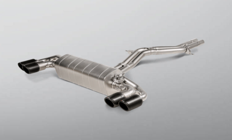 Porsche Cayenne Turbo/Coupe/ Turbo S E-Hybrid/Coupe Akrapovic Titanium Evolution Line Exhaust System