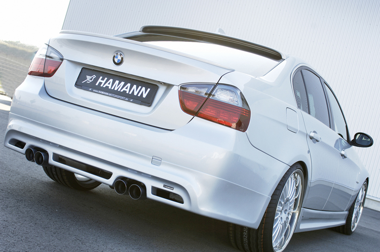 Hamann - 05-on BMW 3-Series E90 Roof Spoiler by Hamann