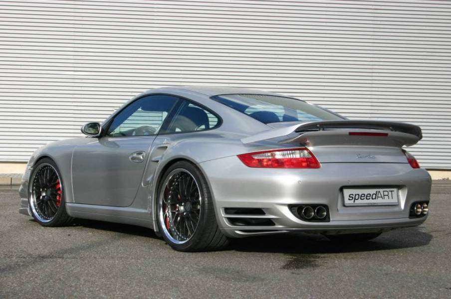 Speedart Sport Exhaust For The 997 Turbo