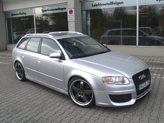 Oettinger - 2006-on Audi A4 B7 Front Silencer2.0 Turbo FSI -Qu