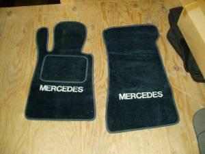 Lloyd Mercedes Floor Mats Mercedes 107 1972 1989 450sl