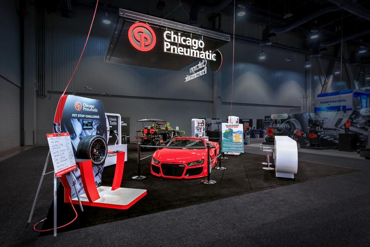 Chicago Pneumatic SEMA Show