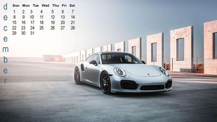 GMP Performance 2019 Desktop Calendar