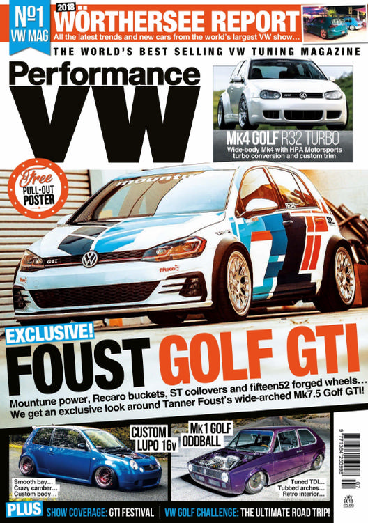 Performance VW Feature - July 2018