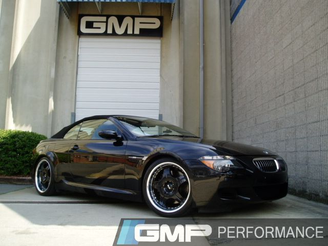 2006 Black BMW M6 Cabrio lowered with AC Schnitzer springs, MRR wheels and Supersprint Exhaust