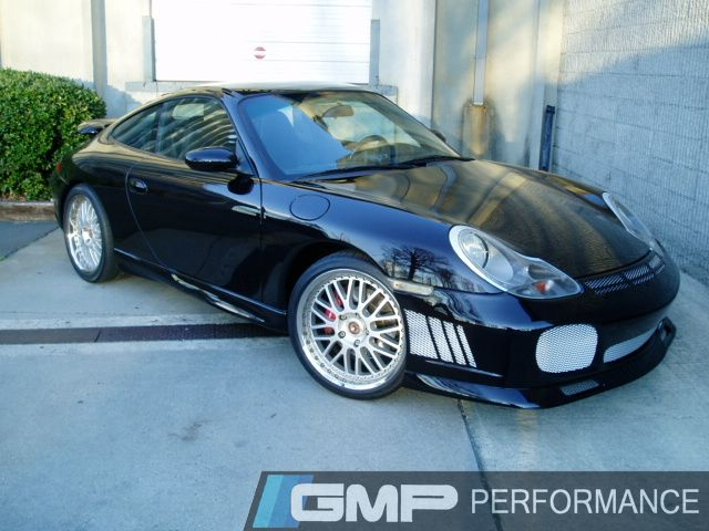 Porsche 996 Narrow body with speedART Turbo Bumper Conversion,VF Supercharger, and Cargraphic Wheels
