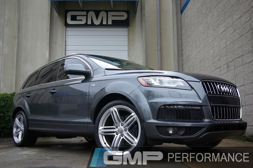 GMP Gallery | 2010 Audi Q7 TDI with H&R springs, Rinnspeed wheels