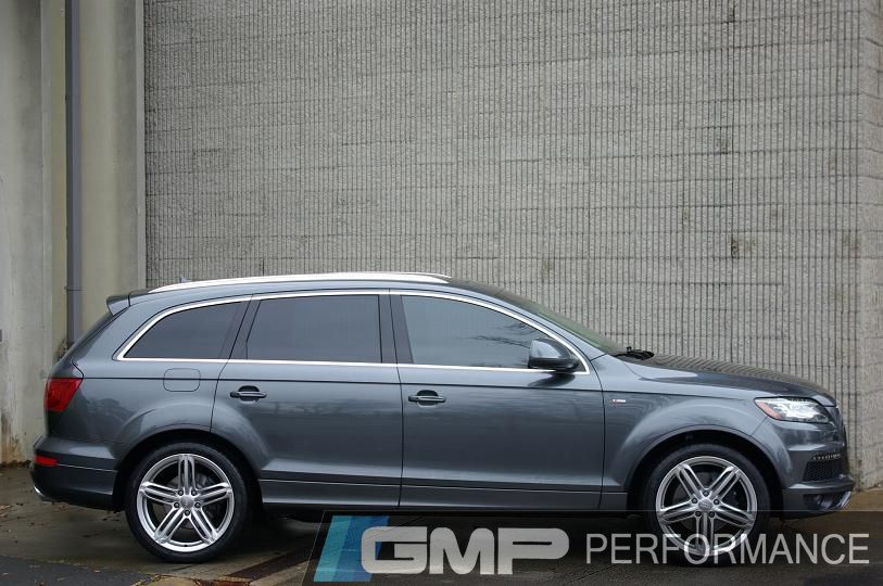 Gmp Gallery 2010 Audi Q7 Tdi With H Amp R Springs Rinnspeed