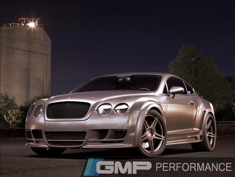 Bentley Continental GT with Hamann Widebody and ADV1 Wheels