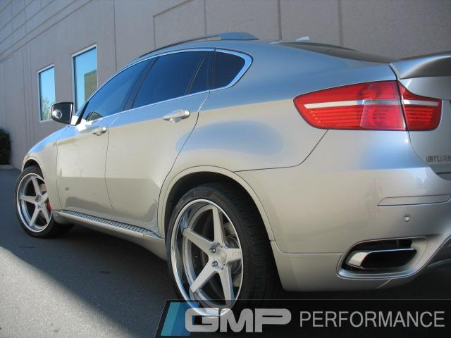 Gmp Gallery Bmw X6 With Adv1 Wheels Pirelli Tires H Amp R