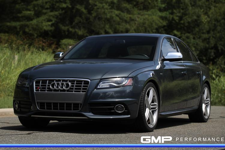 Audi S4 with APR Stage 1 ECU and TCU Tunes, AWE Exhaust, P3 Gauge, and 034Motorsport Mount