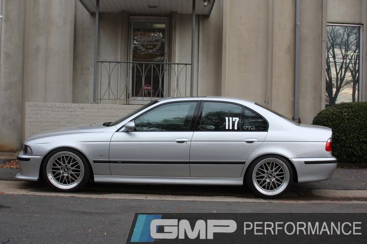 02 BMW M5 Recaro Seats install at GMP Performance