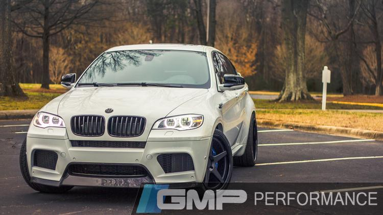 12 BMW X6M Akrapovic Exhaust, Down Pipes, ECU Upgrade