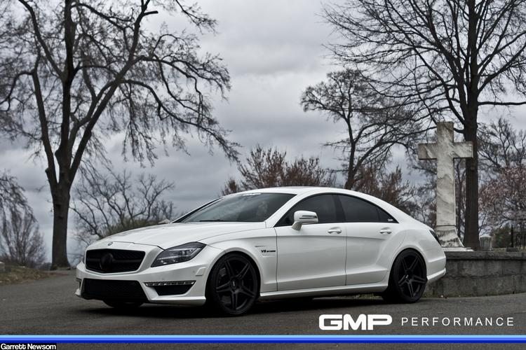 2012 Mercedes CLS63 AMG w/ ADV05.1, Coil-Overs, Carbon Fiber Lip and more..