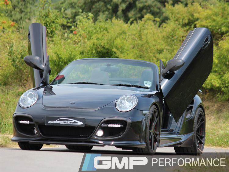 Porsche 997 Turbo Gullwing BTR-II 600 EVO – Ultra Edition Built By speedART