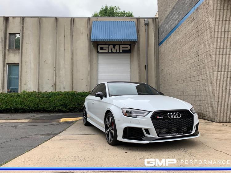 Audi RS3 with APR Turbo Inlet, APR Intercooler, APR Stage 1+ ECU Tune