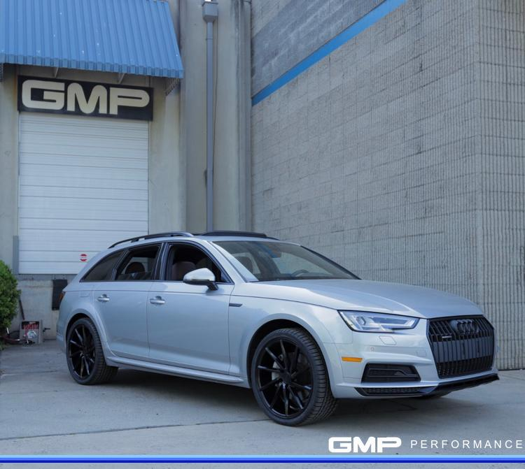 Audi Allroad with Vossen Wheels, Michelin Tires and wrapped Trim
