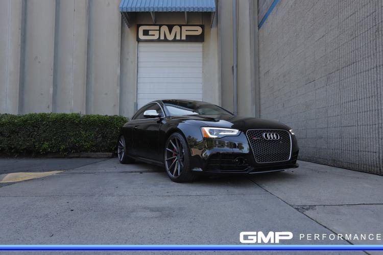 Audi B8 RS5 with Vossen Wheels, Michelin tires, caliper paint and JHM ECU Tune