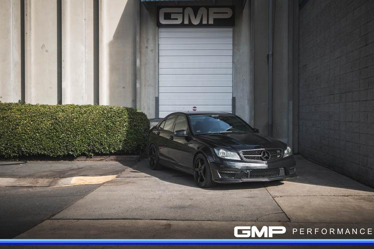 Mercedes C63 AMG with Forgeline Wheels, Black Trim, Wavetrac Differential, and MBH ECU