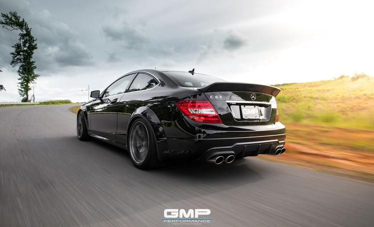 Mercedes C63 AMG with Weistec Supercharger, Widebody Rear Fenders, & Forgeline Wheels