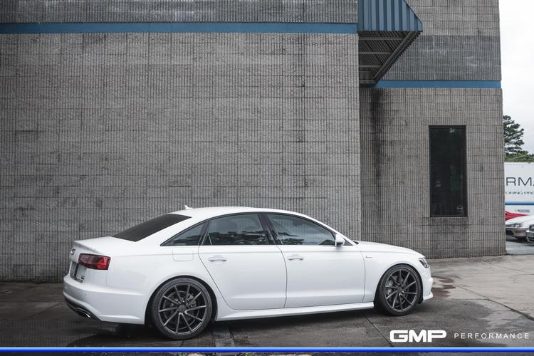 Audi A6 With APR Ultracharger and Crank Pulley