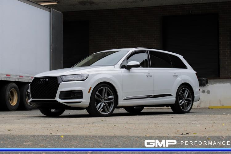Audi Q7 with H&R lowering springs