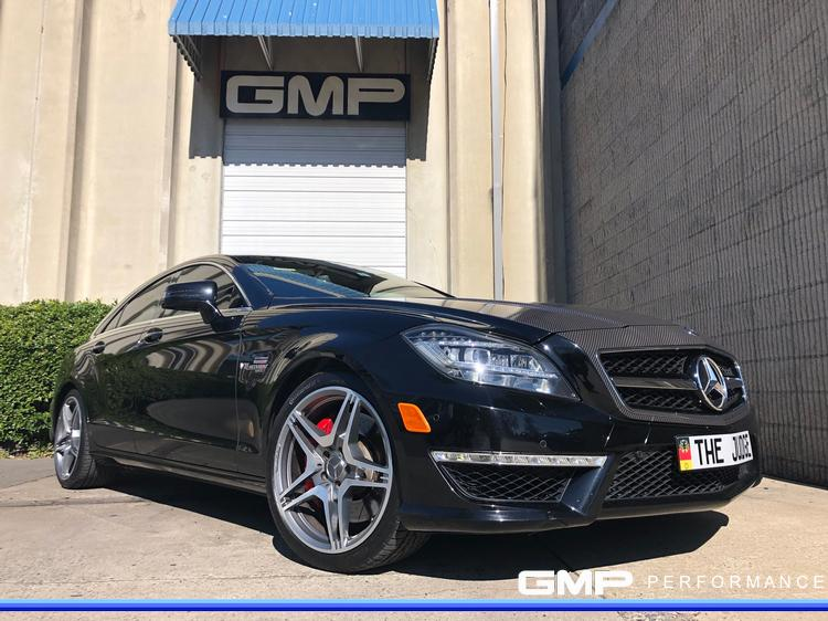 2012 Mercedes CLS63 AMG with Hood Wrap and RENNtech ECU Tune