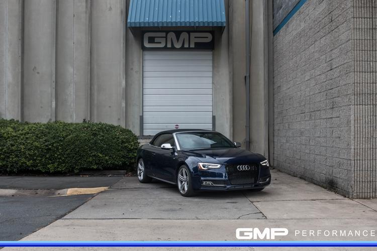 Audi S5 With APR CPS, Crank Pulley, Stage 2 Tune, AWE Touring Exhaust, and OE Audi grille