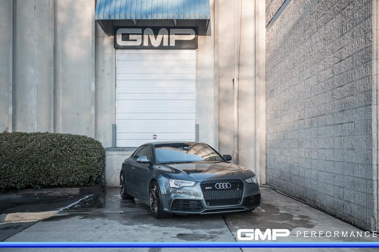 Audi RS5 With Painted Calipers and 034 Motorsports Sway Bar and Mounts
